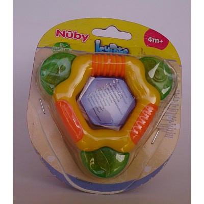 nuby 4m+icebite teether