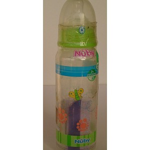 nuby feeding bottle 240ml 0m+