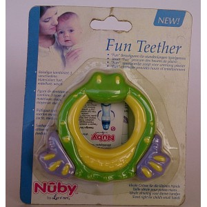 nuby fun teether 4m+