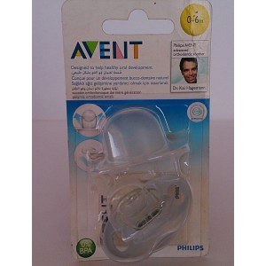 avent 0-6m orthodontic advanced soother