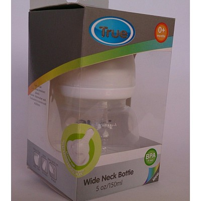 true wide neck bottle 150 ml