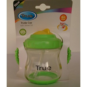 true trusip cup with swivel lid 6m+