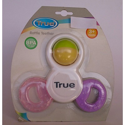 true rattle teether 3m+