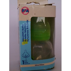 canpol babies balloon bottle leak proof cup 150ml