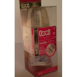 canpol babies lovi feeding bottle 250ml 0m+