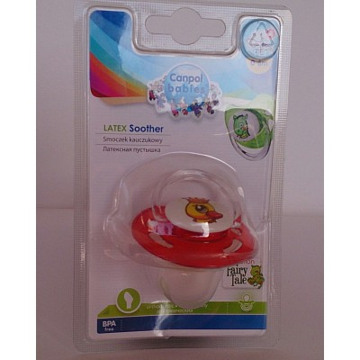 canpol babies  latex soother 0-6m