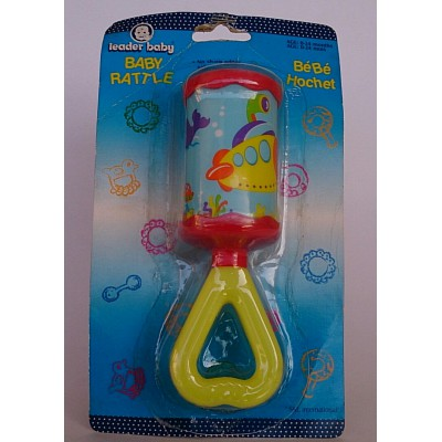 leader baby rattle