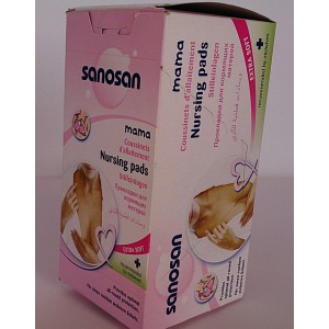 sanosan nursing pads 30 pieces