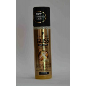 GLISS conditioner leve in (hair repair with liquid keratin complex 200 ml) over stressed strawy hair