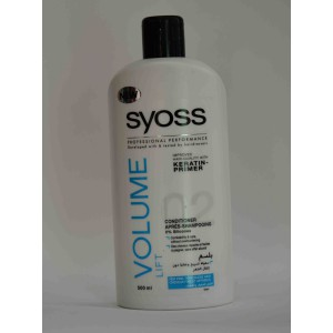 SYOSS volume lift conditioner (for fine powerless hair) 500ml