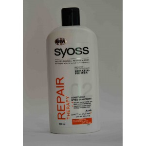 SYOSS repair therapy conditioner (for dry damaged hair) 500ml