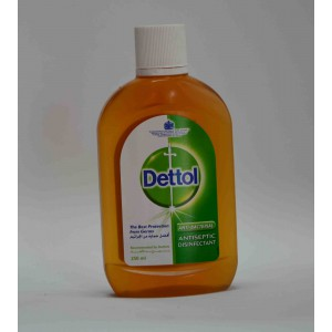 Dettol anti bacterial anti septic disinfectant 250ml