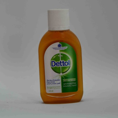 Dettol anti bacterial anti septic disinfectant 125ml