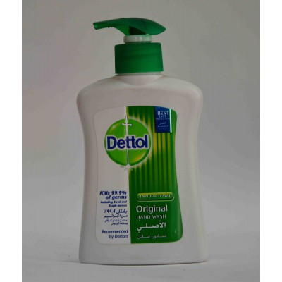 Dettol anti bacterial hand wash orginal 200ml