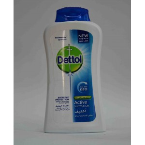 Dettol anti bacterial active shower gel 250ml