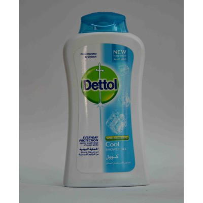 Dettol anti bacterial cool shower gel 250ml