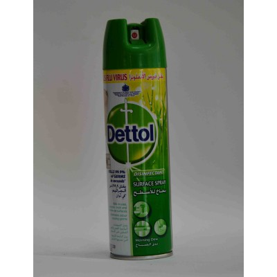 dettol surface spray kills flu virus morning dew 225