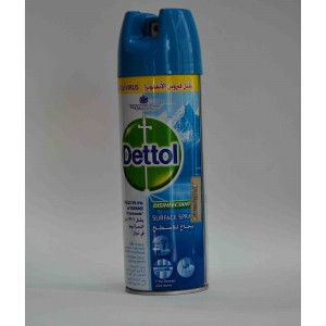 dettol surface spray kills flu virus crisp breeze 450ml