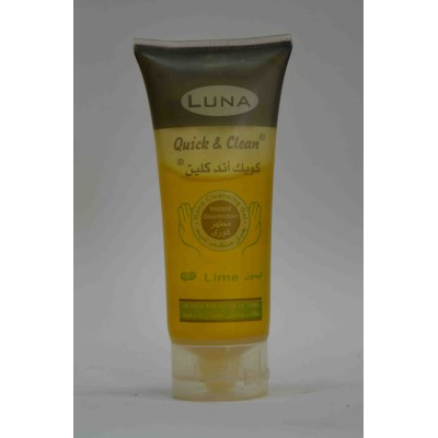 luna quick&clean hand cleansing gel with lime 100ml