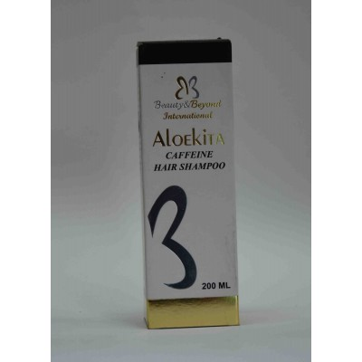 Aloekita caffeine hair shampoo 200ml