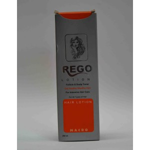 REGO lotion  get clean healthy wealthy hair 250ml