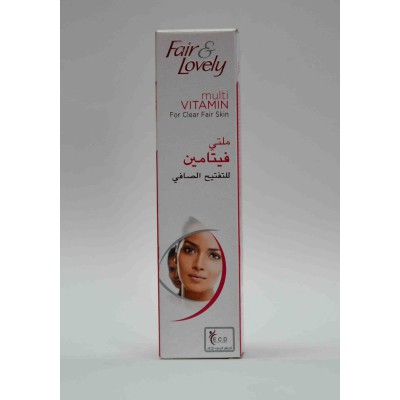fair & lovely multi vitamin for clear fair skin18gm