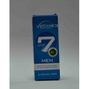 vebix max dea cream 7 days for men 15ml