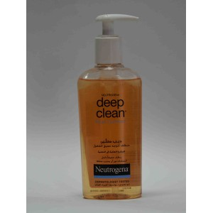 clean & clear deep clean facial cleanser 200ml