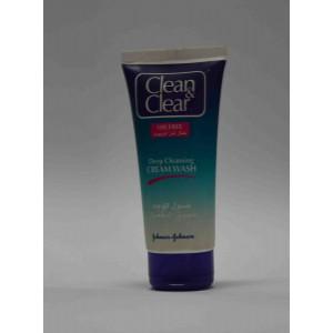clean & clear deep cleansing cream wash 100ml