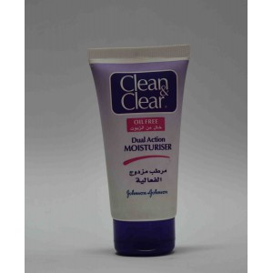 clean & clear dual action moisturiser 75ml