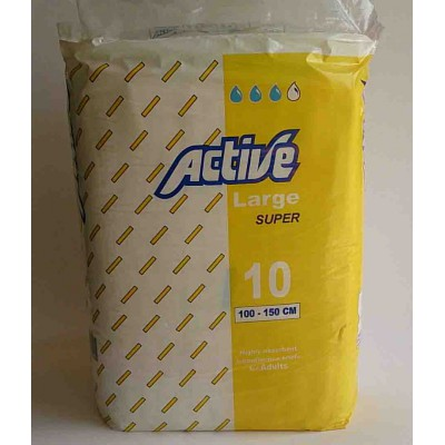 active hygiene adults large  10pieces 100--150cm