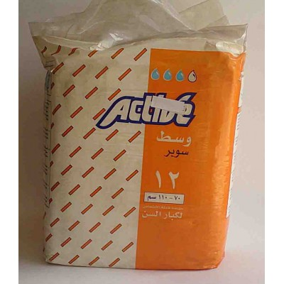 active hygiene adults medium  12pieces 70-110cm