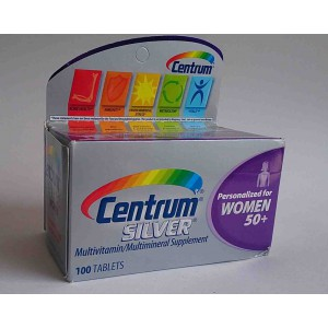 centrum silver 100 tablets for women 50+ year