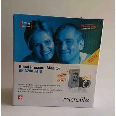 microlife blood pressure cuff bpa 200
