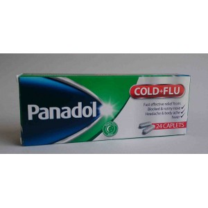 panadol cold and flu 24 tab