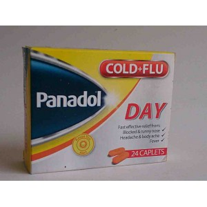 panadol cold and flu day 24 caplets