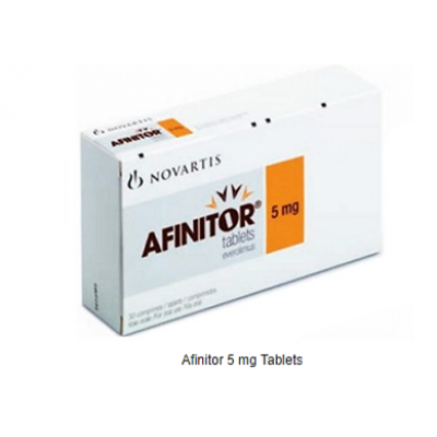 Afinitor ® 5 mg ( Everolimus ) 30 tablets