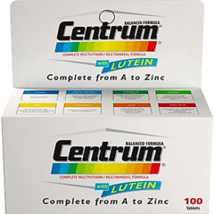 Centrum ® 100 tablets ( multivitamins & minerals )