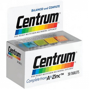 Centrum ® 30 tablets ( multivitamins & minerals )