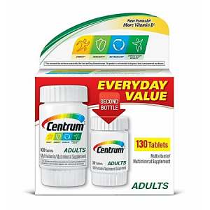 Centrum ® Everyday Value 130 tablets ( multivitamins & minerals )