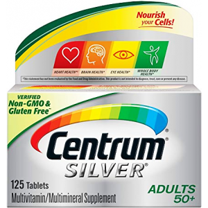 Centrum ® Silver ® Adults ( + 50 years ) 125 tablets