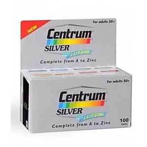 Centrum ® Silver ® Adults ( + 50 years ) 100 tablets