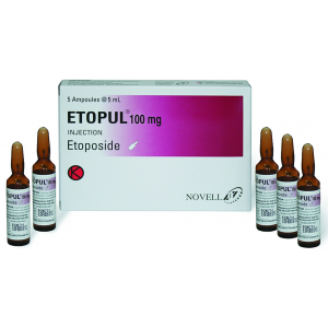 Etopul 100 mg vial ( Etoposide ) solution for infusion