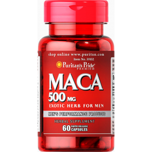 MACA 500 mg Puritan's Pride ( Maca ) Exotic Herb For Men 60 capsules