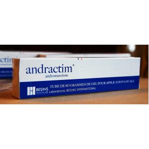 Andractim ® 2.5% gel ( Androstanolone  )