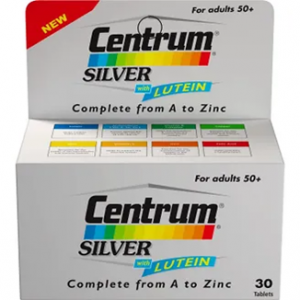Centrum ® Silver ® Adults ( + 50 years ) 30 tablets