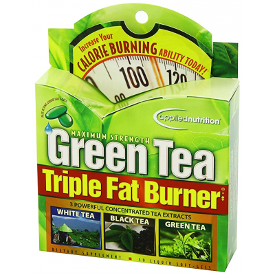 Green Tea Triple Fat Burner Maximum Strength  Applied Nutrition 30 softgels / capsules