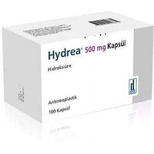 Hydrea 500 mg ( Hydroxycarbamide ) 100 capsules