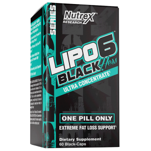Lipo 6 Black Hers Ultra Concentrate  One Pill Only  Extreme Fat Loss Support  60 Black Capsules