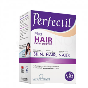 PERFECTIL PLUS HAIR EXTRA SUPPORT SKIN , HAIR , NAILS   60 Tablets
